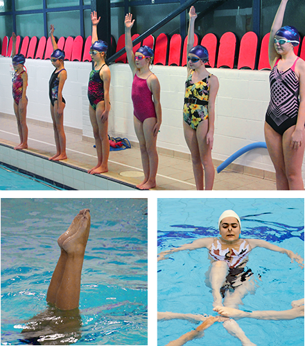 Synchro Classes, sculling, patterns